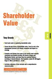 Shareholder Value by Tony Grundy