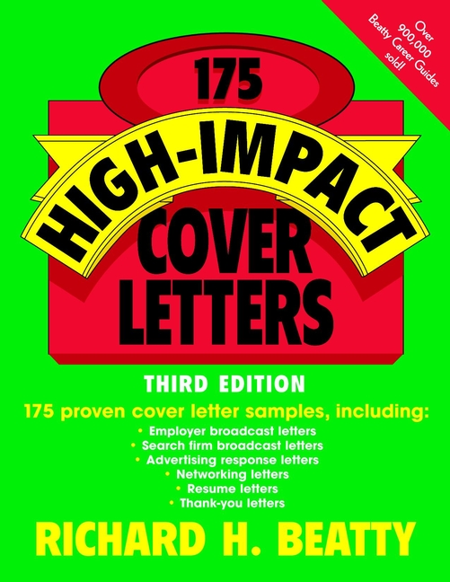Download Ebook 175 High-Impact Cover Letters (3rd ed.) by Richard H. Beatty Pdf