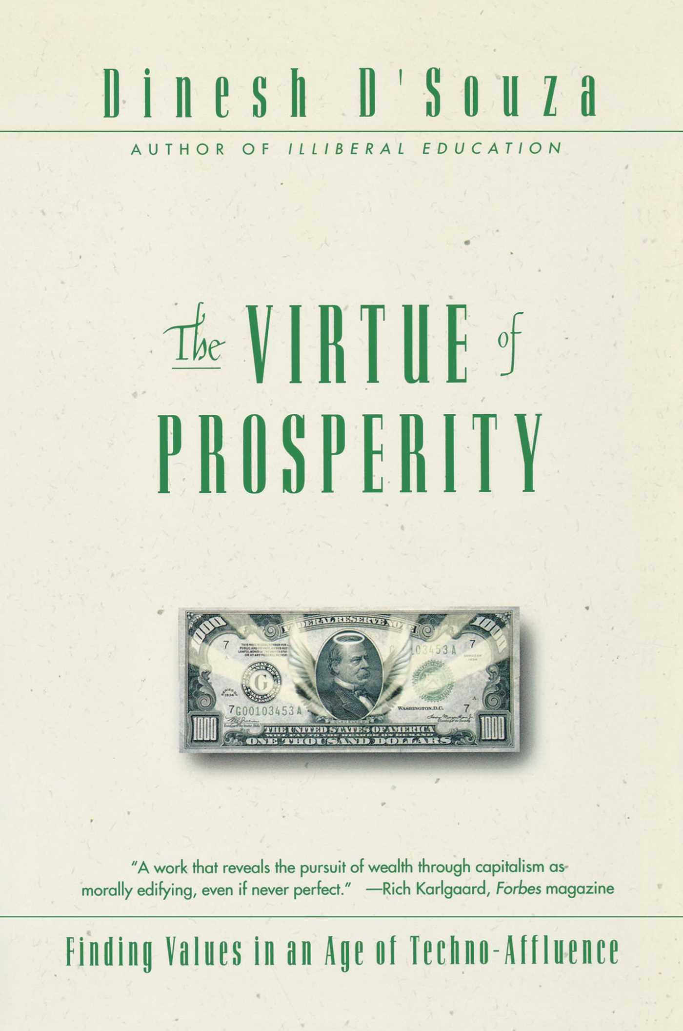 Download Ebook The Virtue Of Prosperity by Dinesh D'Souza Pdf