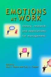 Emotions at Work by Roy L. Payne