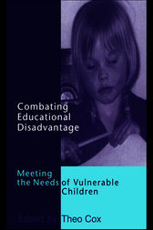 Combating Educational Disadvantage by Dr Theo Cox