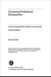 Continuing Professional Development by Anna Craft