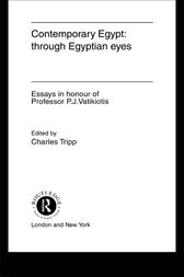 Contemporary Egypt: Through Egyptian Eyes by Charles Tripp