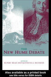 The New Hume Debate by Rupert Read