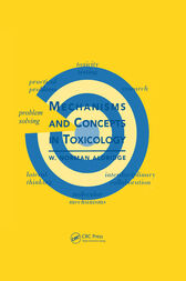 Mechanisms and Concepts in Toxicology by W. Norman Aldridge