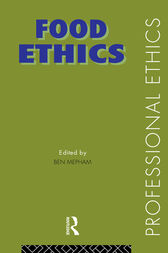 Food Ethics by Ben Mepham