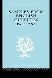 Samples from English Cultures by Josephine Klein