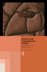Gramsci and Contemporary Politics by Anne Showstack Sassoon