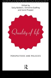 Quality of Life by Sally Baldwin
