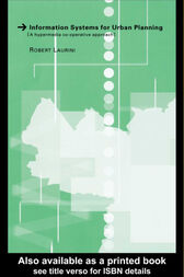 Information Systems for Urban Planning by Robert Laurini