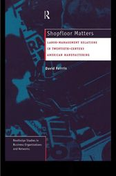 Shopfloor Matters by David Fairris