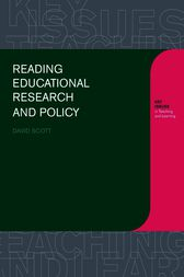 Reading Educational Research and Policy by David Scott