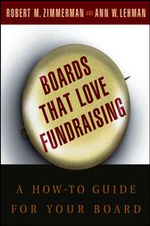 Boards That Love Fundraising by Robert M. Zimmerman