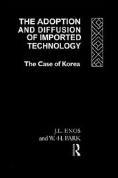 The Adoption and Diffusion of Imported Technology by J. L. Enos