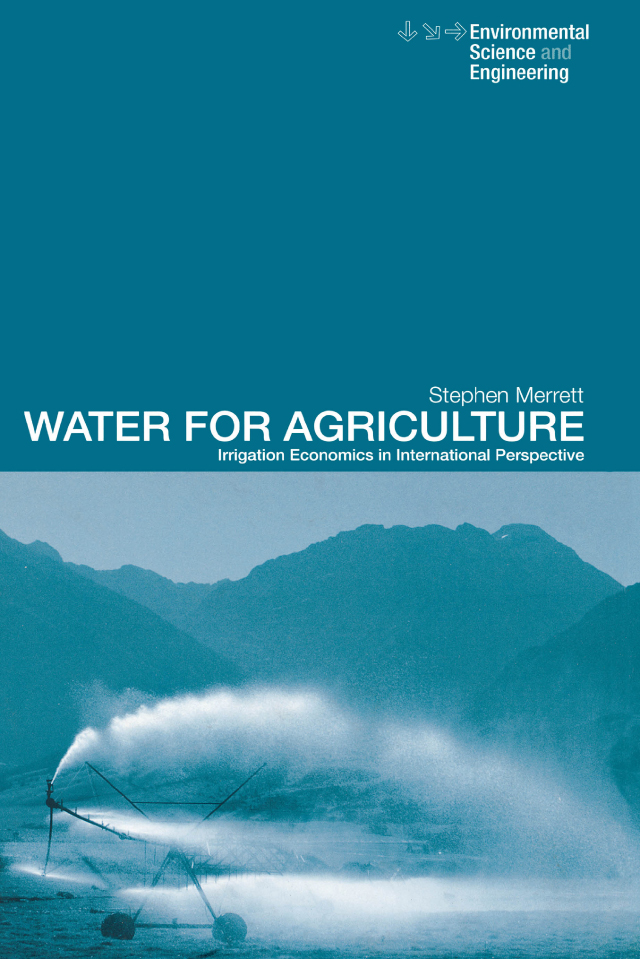Download Ebook Water for Agriculture by Stephen Merrett Pdf