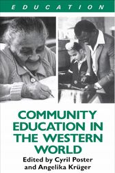 Community Education and the Western World by Angelika Kruger