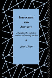 Inspecting and Advising by Mrs Joan Dean