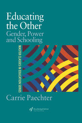 Educating the Other by Dr Carrie Paechter