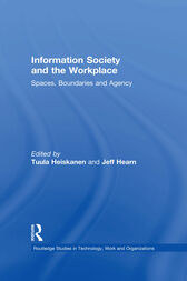 Information Society and the Workplace by Prof Jeff Hearn