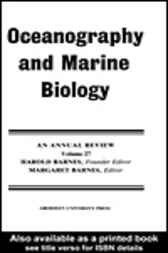 Oceanography And Marine Biology by Harold Barnes
