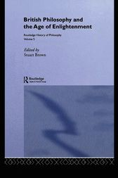 Routledge History of Philosophy Volume V by Stuart Brown