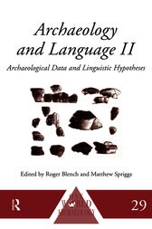 Archaeology and Language II by Roger Blench