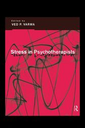 Stress in Psychotherapists by Ved P Varma