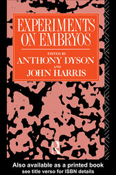 Experiments on Embryos by Anthony Dyson