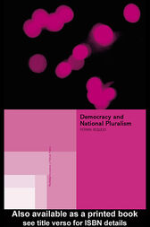 Democracy and National Pluralism by Ferran Requejo