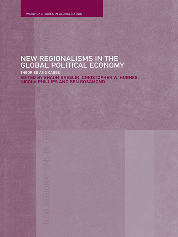 Download Ebook New Regionalism in the Global Political Economy by Shaun Breslin Pdf
