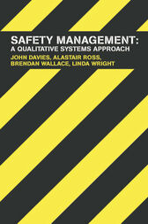 Safety Management by John Davies