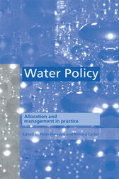 Water Policy by P. Howsam