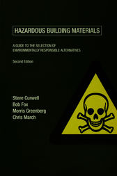 Hazardous Building Materials by Steve Curwell