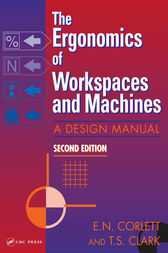 The Ergonomics Of Workspaces And Machines by E. N. Corlett