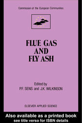 Flue Gas and Fly Ash by P.F. Sens