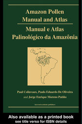 Amazon: Pollen Manual and Atlas by Paul A Collinvaux