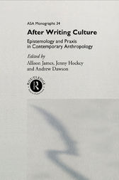 After Writing Culture by Andrew Dawson
