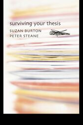 Surviving Your Thesis by Suzan Burton