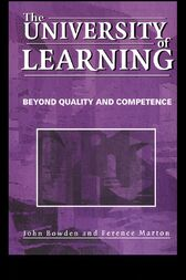 The University of Learning by John Bowden