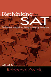 Rethinking the SAT by Rebecca Zwick