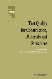 Test Quality for Construction, Materials and Structures by M. Fickelson