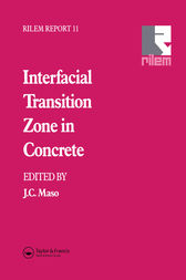 Interfacial Transition Zone in Concrete by J.C. Maso