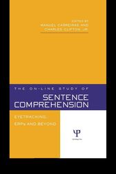 The On-line Study of Sentence Comprehension by Manuel Carreiras
