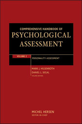 Comprehensive Handbook of Psychological Assessment, Volume 2 by Mark J. Hilsenroth