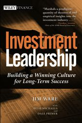 Investment Leadership by Jim Ware