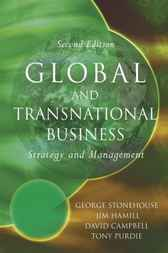 Global and Transnational Business by George Stonehouse