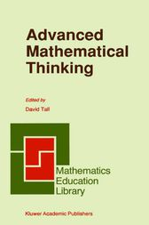 Advanced Mathematical Thinking by David Tall