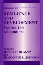 Resilience and Development by Meyer D. Glantz