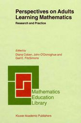 Perspectives on Adults Learning Mathematics by D. Coben