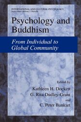 Psychology and Buddhism by Kathleen H. Dockett